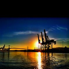 Port of Los Angeles, photo by Hiro 2012