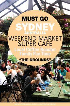 Travel Australia Sydney The Grounds of Alexandria Coffee Roaster Weekend Market 澳洲必去雪梨假日市集_01