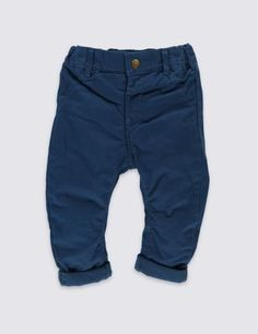 These adorable chinos will keep your little one comfy and happy all day long.