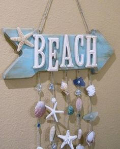 While you're taking that early morning stroll along the beach, keep an eye out of seashells that you can use for your next decor project,