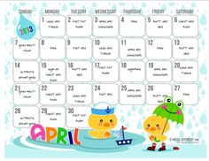 cute calendar templates | there are tons of cute calendar templates out there if you d like to ...