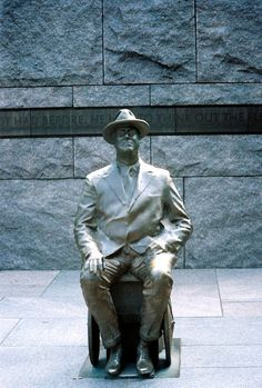 FDR Memorial in Washington DC I went there when I was little and it was too cool!