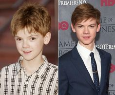 thomas sangster, not changed much ^_^ he plays the voic of ferb on phineas and ferb and was in nanny mcphee