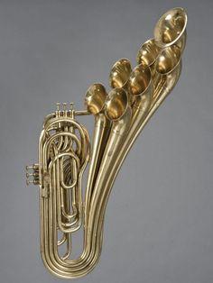 Adolphe Sax - Trombone à Pistons Valve Trombone, Adolphe Sax, Brass Instrument, Trumpet Instrument, Big Band Jazz, Homemade Instruments, French Horn, World Music, Music Stuff