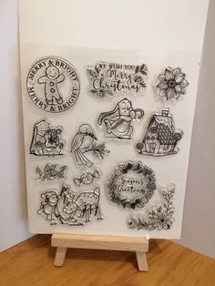 Your place to buy and sell all things handmade Stamp Collecting, Gingerbread Man, Beautiful Christmas, My Etsy Shop, Bright, Check, Stuff To Buy, Collection, Home Decor