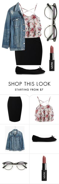 """Outfit #18"" by unicornicamitha on Polyvore featuring Jacques Vert, Madewell, Nly Shoes and ZeroUV"