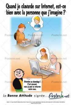 Quand je clavarde sur internet, est-ce bien avec la personne que j'imagine?