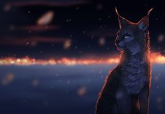 I see flashes of gold - Dae is an American artist who created amazing digital art on the lovely animals.