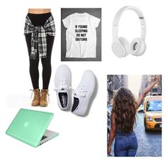 """""""Ellie plane"""" by haileerhodes ❤ liked on Polyvore featuring Keds, Insten and Beats by Dr. Dre"""