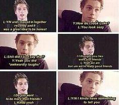 Imagine: Luke always having a crush on you and finally telling you (c) @5SOS_Imagining