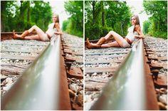 Like the angle/railroad, NOT the pose! Cute Photography, Senior Photography, Maternity Photography, Portrait Photography, Creative Photography, Family Photography, Senior Pictures Boys, Senior Photos, Senior Portraits