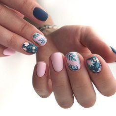 Beautiful Manicure Nails For Short Nails Design Ideas -Square & Almond Nails - Page 111 of 133 - Latest Fashion Trends For Woman Stylish Nails, Trendy Nails, Cute Nails, Square Nail Designs, Short Nail Designs, Creative Nail Designs, Creative Nails, Milky Nails, Short Square Nails