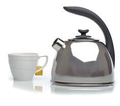 BergHOFF Whistling Tea Kettle, Silver