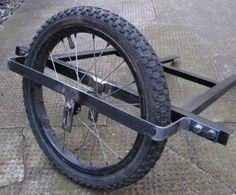 Прикольный самодельный велосипед с коляской
