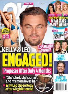 Leonardo DiCaprio Is Engaged to Model Kelly Rohrbach http://ift.tt/1hz6a6D