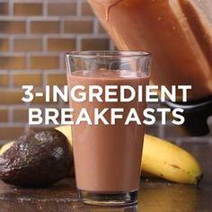 3-Ingredient Breakfasts // #breakfast #recipes #smoothie #pancakes #cloudbread #lowcarb #mealprep #easycooking #goodful