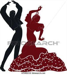 asqueroso bailarines hermoso cerca de Madrid
