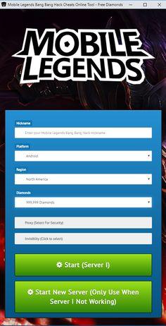 Mobile Legends Hack Generator — Mobile Legends Free Diamonds Mobile Legends Hack 2019 Updated Generator — How to Get Unlimited Diamonds No Survey No Verification Mobile Legends Bang Bang Hack — Get. Episode Choose Your Story, Play Hacks, App Hack, Game Resources, Android Hacks, Mobile Legends, Hack Online, Mobile Game, Bang Bang