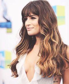 Lea Michele  <3 the hair!!