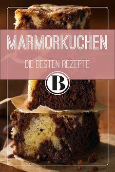 Marmorkuchen ist schnell und einfach gebacken. Das beste Rezept für Marmorkuchen und Varianten von Marmor-Muffins bis Zebrakuchen findet ihr hier!