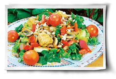 Tossed Tempeh Salad - sounds delish!