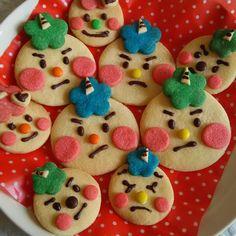 節分に♪鬼のクッキー