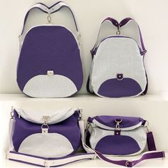 convertible backpack pattern