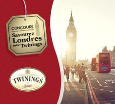 Concours «Savourez Londres avec Twinings»