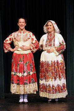 Costumes from Banovina/Banija  Sure looks like Kathy S on the right! :-)