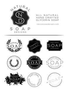 A project for the branding and packaging of Natural Soap Designs, a handcrafted soap company based in Oak Ridge, NC. The focus of this project was to create a brand that exemplified the handcrafted and passionate nature of this small company. My Design, Logo Design, Soap Company, Great Logos, Creating A Brand, Graphic Design Inspiration, Portfolio Design, Diy Art, Eye Candy