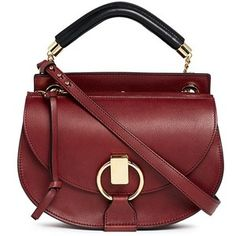 Chloé 'Goldie' small leather satchel