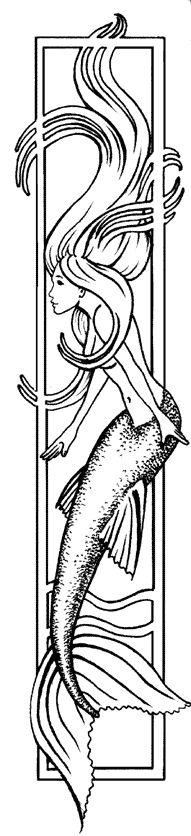 Mermaid Siren  Fantasy Myth Mythical Mystical Legend Coloring pages colouring adult detailed advanced printable Kleuren voor volwassenen coloriage pour adulte anti-stress kleurplaat voor volwassenen