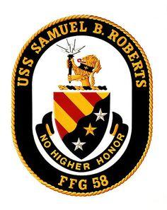 USS Samuel B. Roberts (FFG 58) ship crest