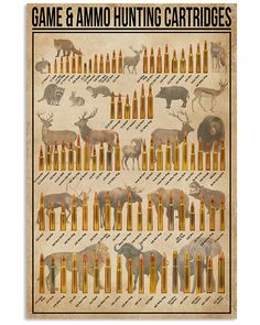 Game And Ammo Hunting Cartridges shirts, apparel, posters are available at Ateefad Outfits Store.