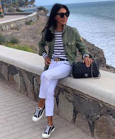 Casual Summer Outfits, Simple Outfits, Stylish Outfits, Spring Outfits, Denim Fashion, Look Fashion, Fashion Outfits, Womens Fashion, Spring Summer Fashion
