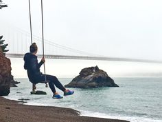 A guide to find that kodak moment swing in San Fransisco // Travelingspud.com