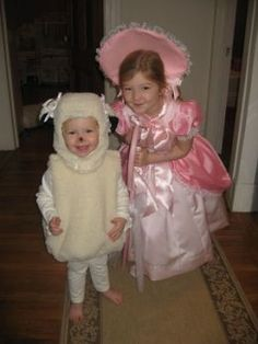 Halloween Costume Ideas for Little Sisters