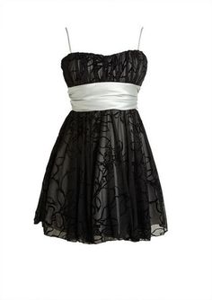 Black Floral Embroidery Dress - View All Dresses - Dresses - dELiA*s