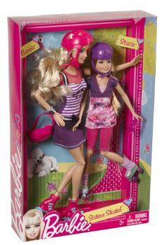 Barbie Sisters Skate Barbie and Stacie Doll Princess Barbie Dolls, Barbie Dolls Diy, Barbie Sets, Diy Barbie Clothes, Barbie Sisters, Barbie Family, Barbie Stuff, Barbie Fashionista, Barbie Dream