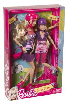 Amazon.com: Barbie Sisters Barbie and Stacie Dolls 2-Pack: Toys & Games