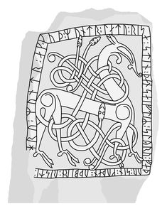 Rune Stones, Old Norse, Viking Art, Granite Stone, Medieval Art, Dark Ages, Good Good Father, Rug Hooking, Runes