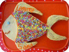 Gateau poisson d'avril recette