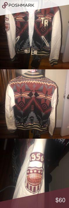 True religion varsity jacket Varsity jacket, no damages at all, great condition. True Religion Jackets & Coats