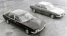 Tatra Prototypes (Vignale), 1969 - Four-Door Limousine ( and Two-Door Coupe ( Datsun Bluebird, Pontiac Grand Prix, Mini Trucks, Car Ins, Concept Cars, Volvo, Milan, Studios, Two By Two
