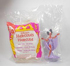 Hercules - Calliope & Ice Titan - Action Toy Figure - Cake Topper - Disney