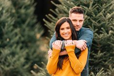 Couples session at Christmas tree farm with Saratoga Springs NY engagement photo. Couples session at Christmas tree farm with Saratoga Springs NY engagement photographer Lauren Kirk Family Christmas Pictures, Christmas Couple, Christmas Tree Farm, White Christmas, Christmas Card Photos, Christmas Portraits, Family Photos, Xmas, Couple Picture Poses