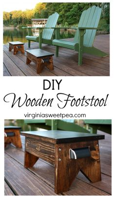 Make Your Own Wooden Footstool Homesteading - The Homestead Survival .Com