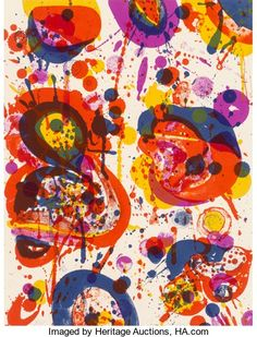 Prints:Contemporary, Sam Francis (1923-1994). Out of My Coffin (SF-44), 1963.Lithograph in colors on wove paper. 13 x 10 inches (33 x 25.4 c...