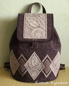 """Фото из альбома """"Мои стеганые сумки. Елена Кулаго."""" - Google Фото"""
