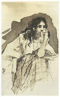 Juan Luna's Maria Clara, for Jose Rizal's Noli Me Tangere.